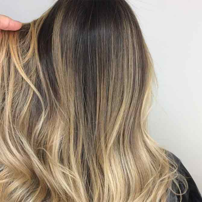 Not blonde to brown hair pictures idea