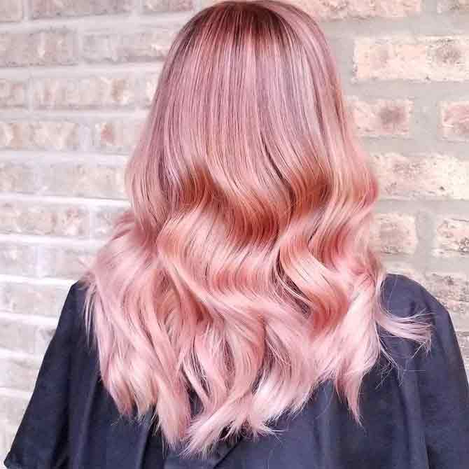 How To Get The Rose Gold Hair Color Trend Dale James Hair And